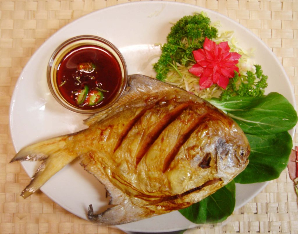 Deep Fried Chili Fish (Pla Tod Rad Prik)