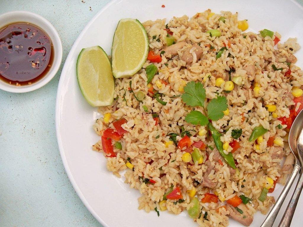 Fried Rice (Khao Pad Goong)
