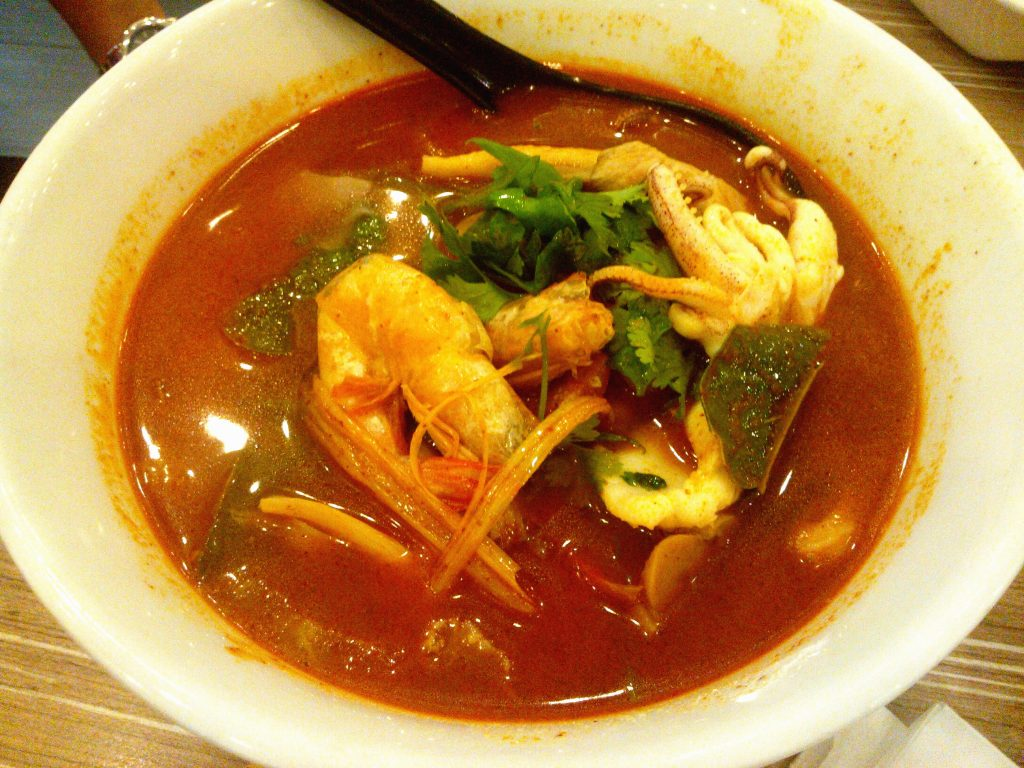 Thai Sweet and Sour Soup Noodles (Kuay Teow Tom Yum)