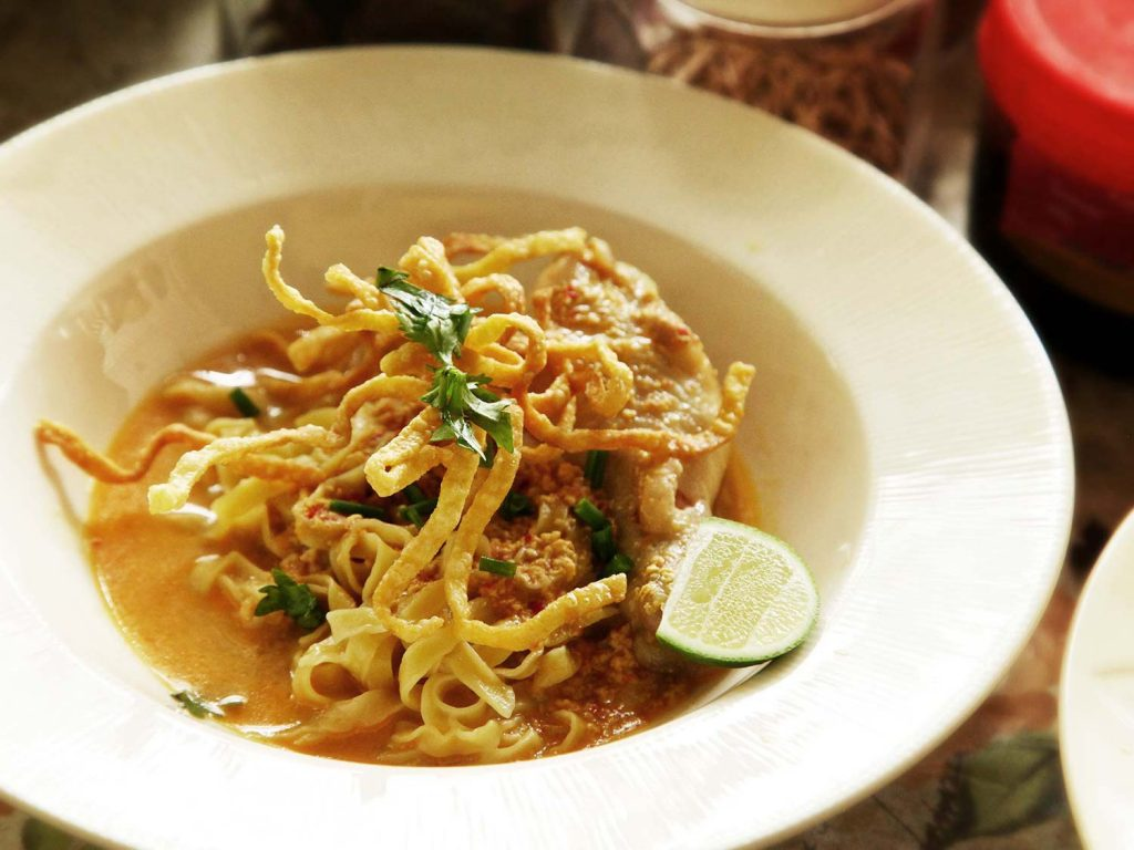 Northern Curry Noodles (Khao Soi)
