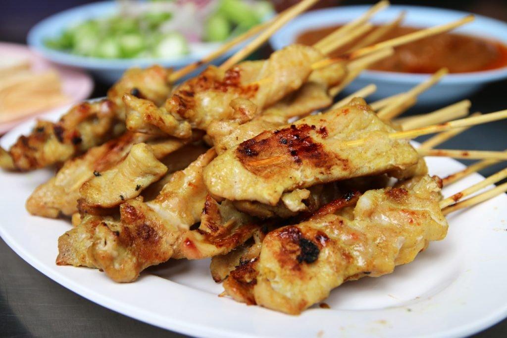 Pork Satay (Moo Satay)