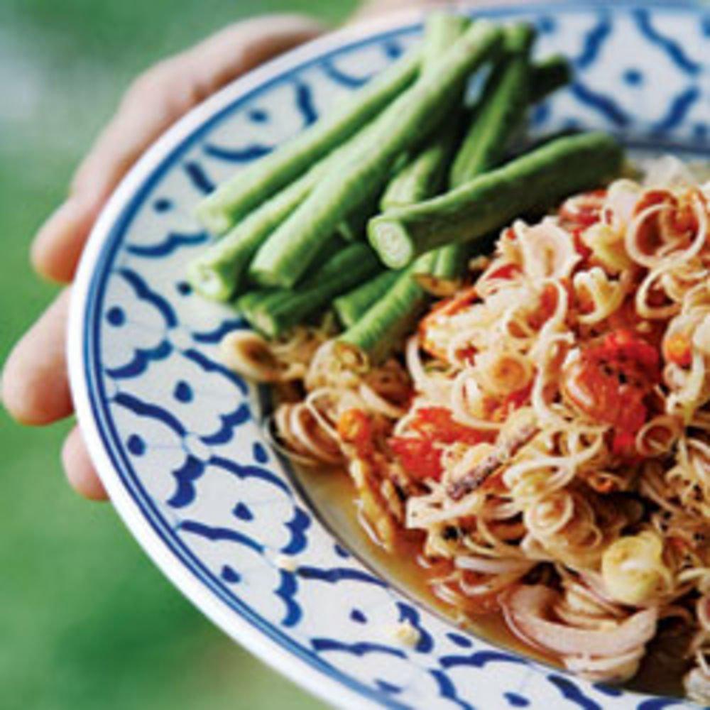 Shrimp Lemongrass Salad (Yam Takrai Goong Sot)