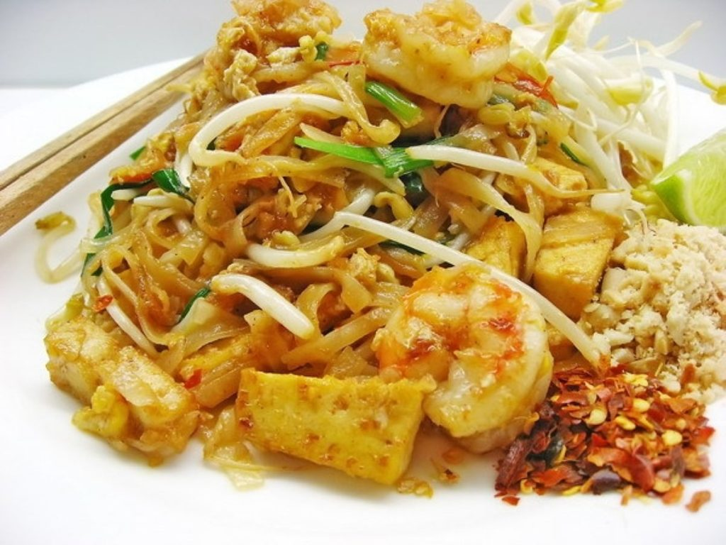 Thai Fried Noodles (Pad Thai)