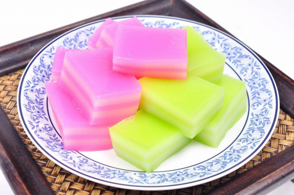 Thai Jello (Khanom Chun)