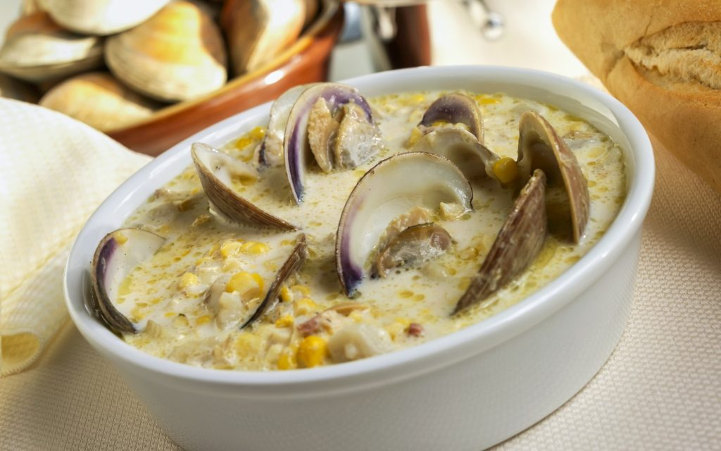 Clam chowder - Massachusetts