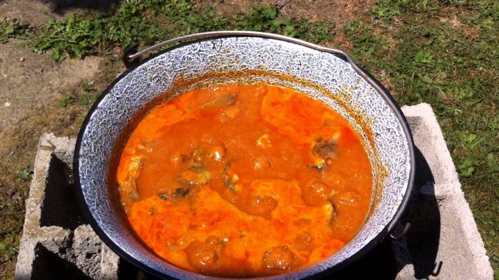 Fiš paprikaš - Fish Stew