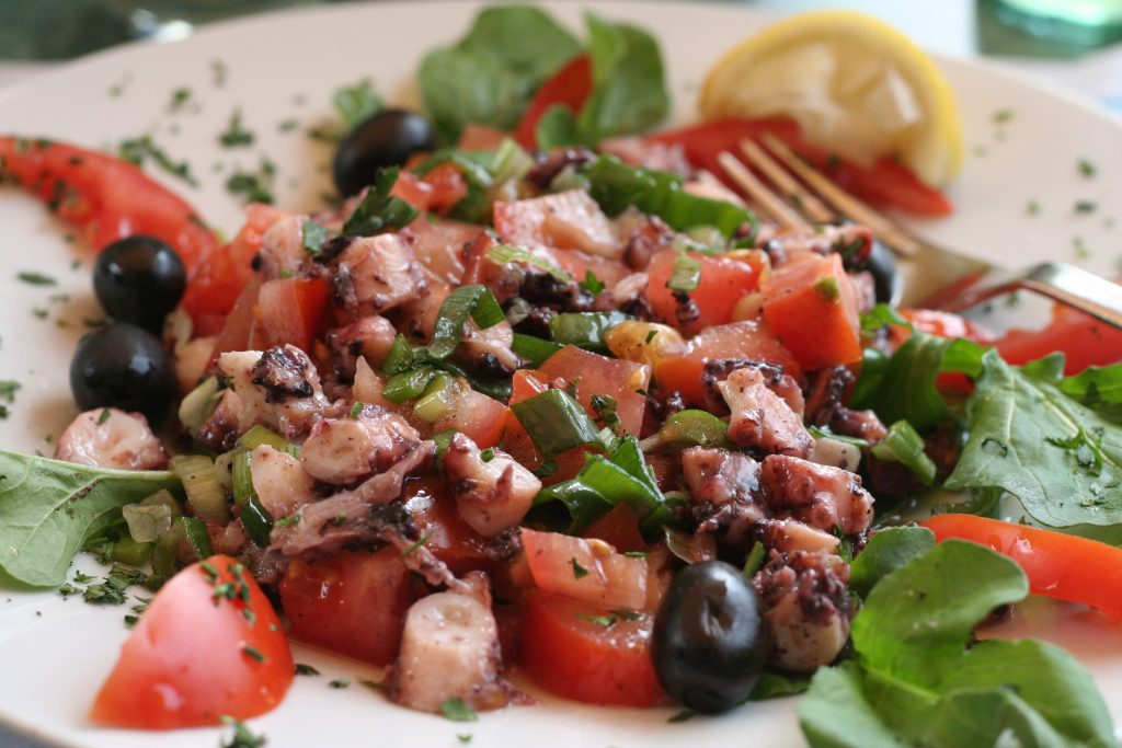 croatian Octopus Salad