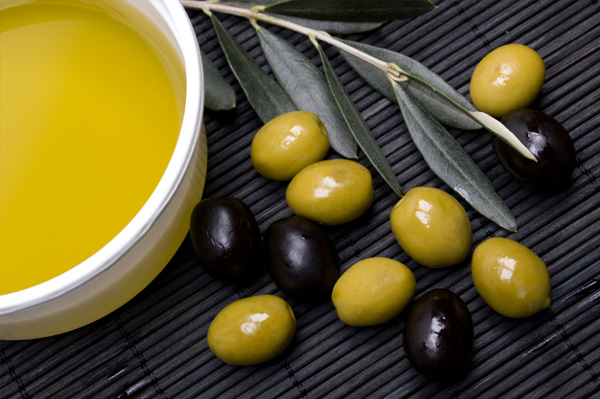 Greek olives and olive oil
