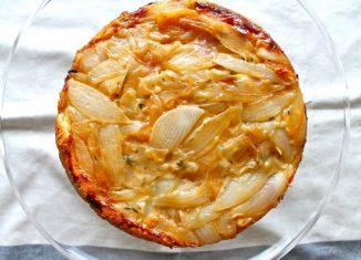 Savory Vegan Onion Pie