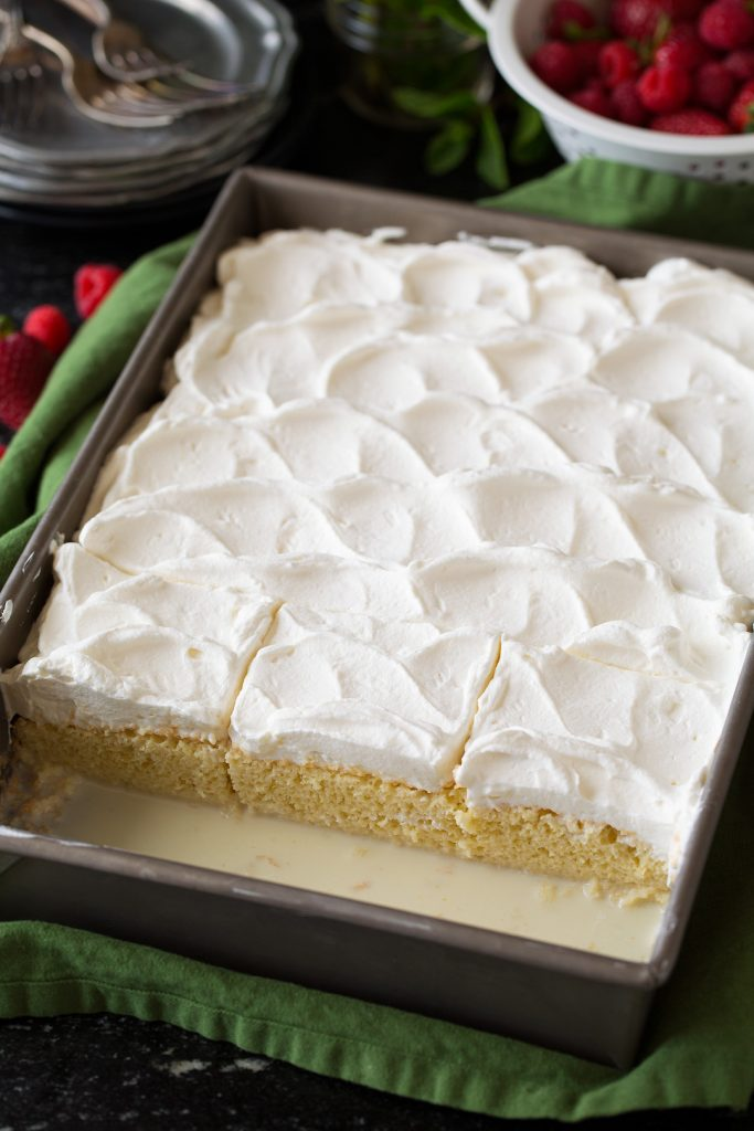 Tres-Leches Cake