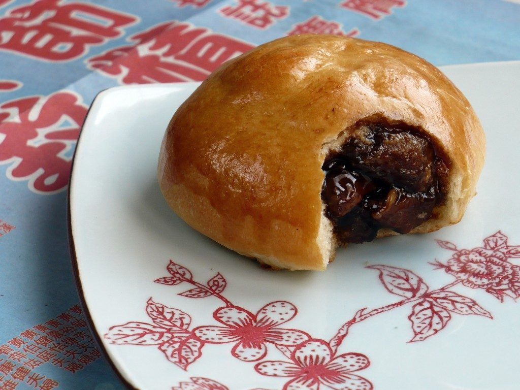 Barbecued pork bun