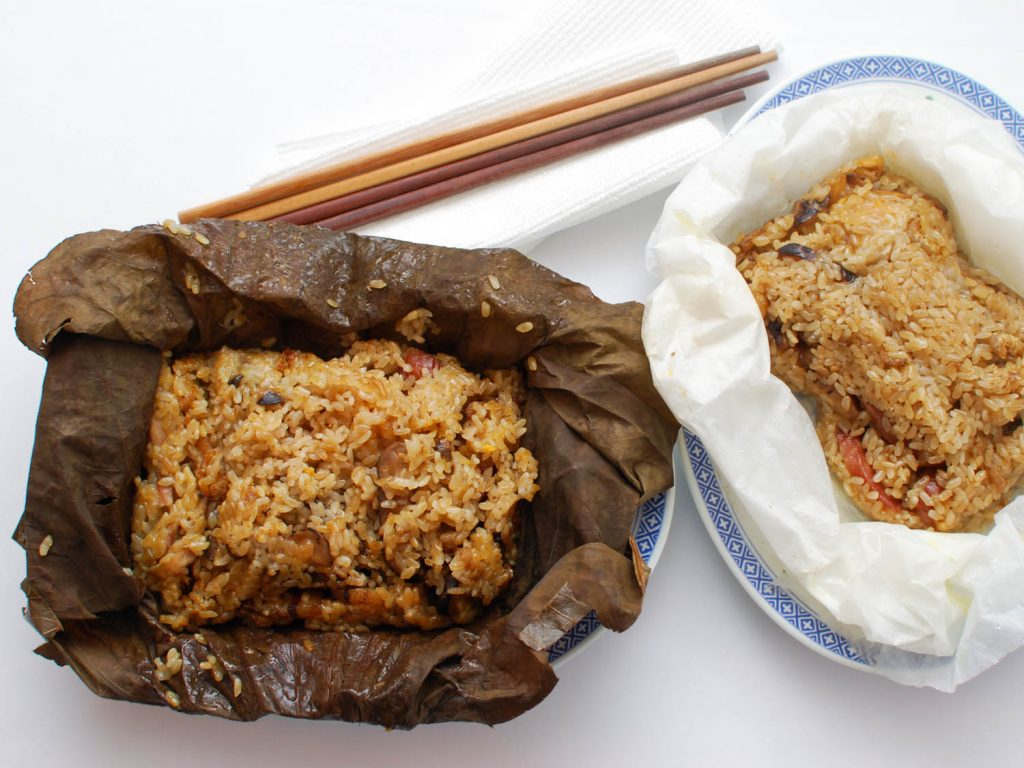 Chinese sticky rice :