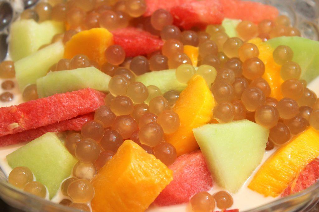Cold Mixed Fruits Sago