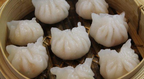 7. Steamed Shrimp Dumplings (Har Gow)