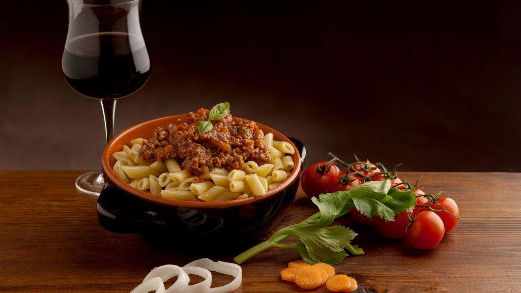 pasta&wine