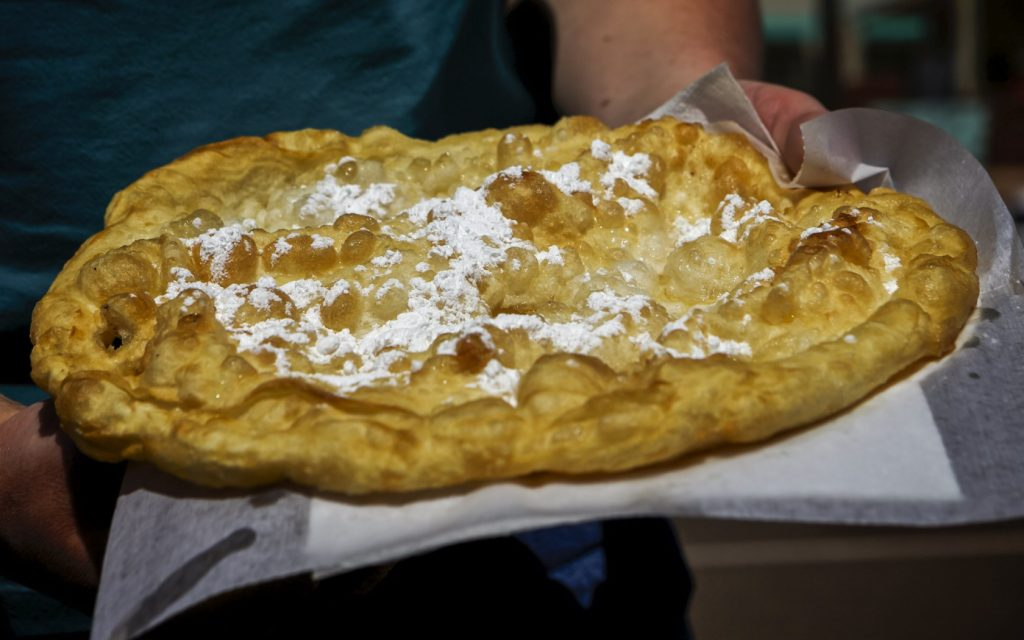 Navajo frybread - South Dakota