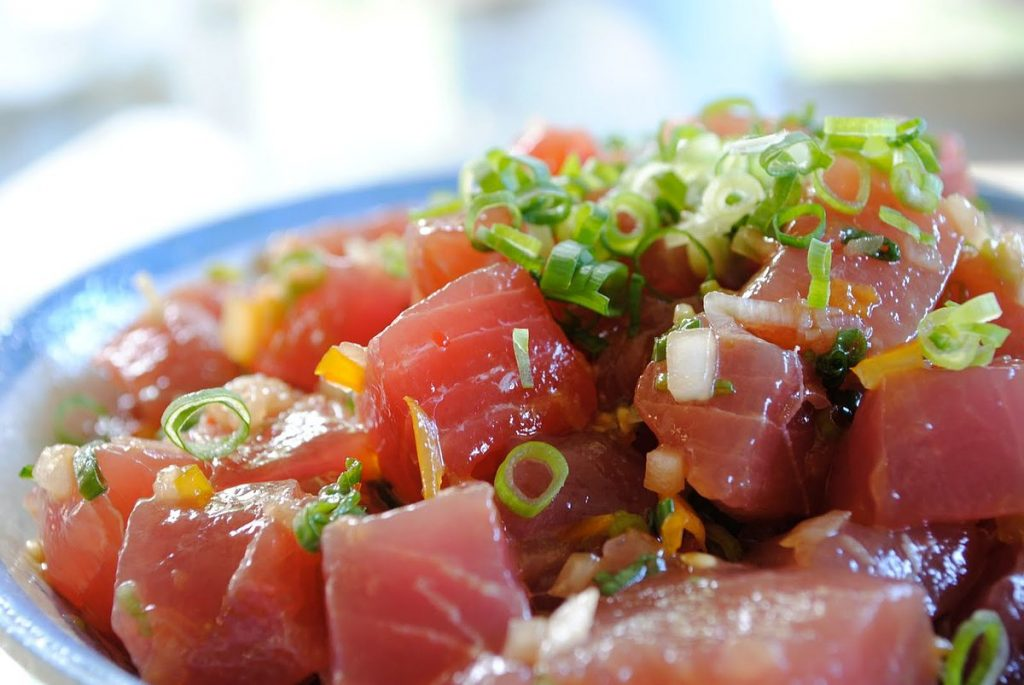 Ahi Poke Tuna - Hawaii