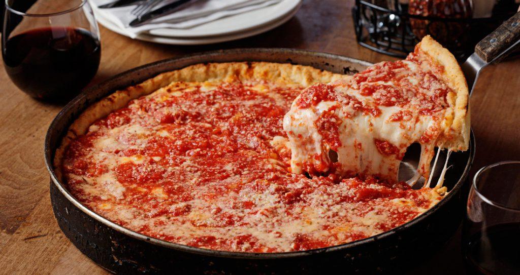 Deep Pan Pizza Illinois