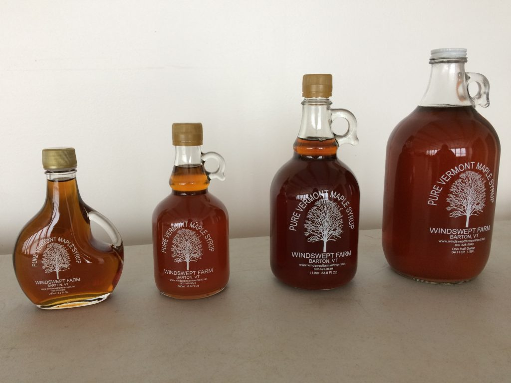 Maple syrup - Vermont