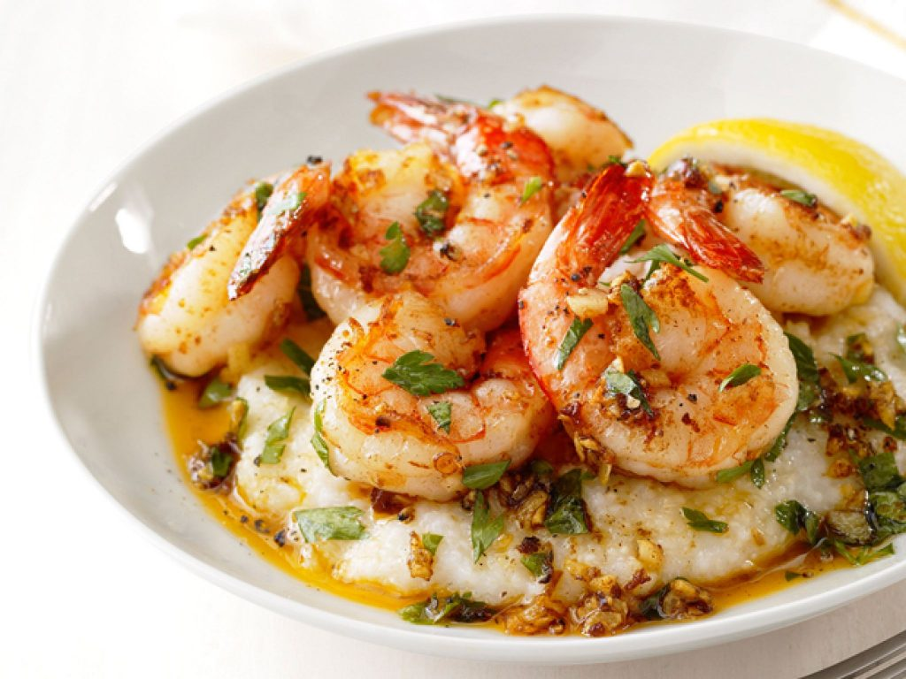 Shrimp and grits - South Carolina