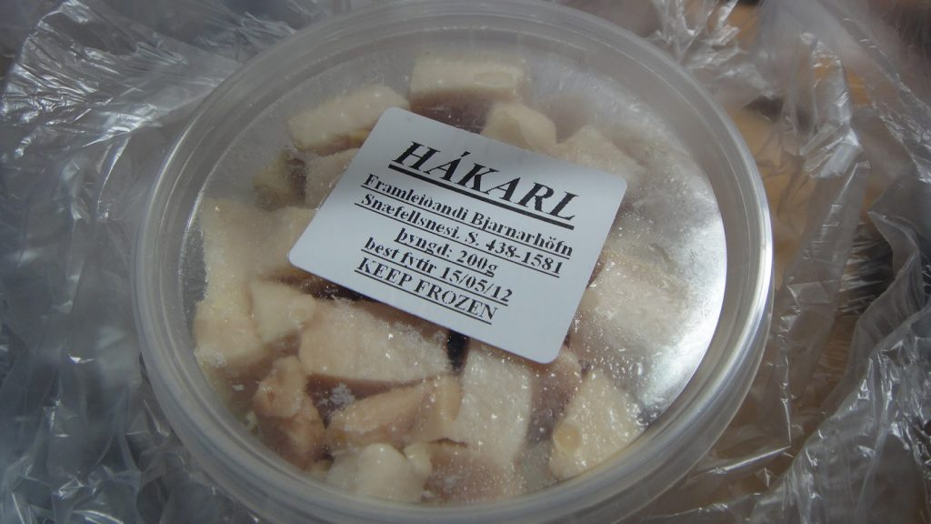 Fermented Shark (hákarl in Icelandic)
