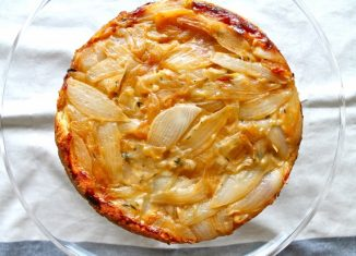 Savory Vegan Onion Pie