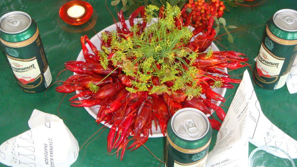Crayfish parties (kräftskivor)
