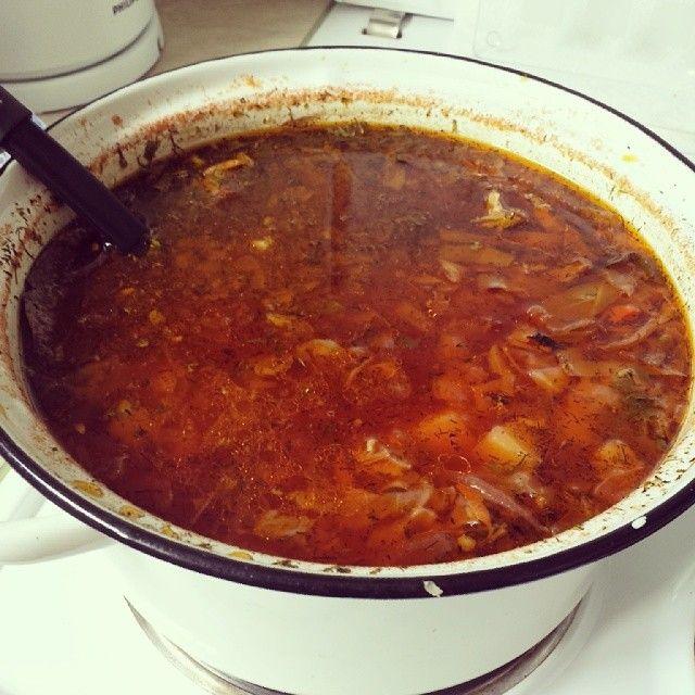 The Armenian version of borscht