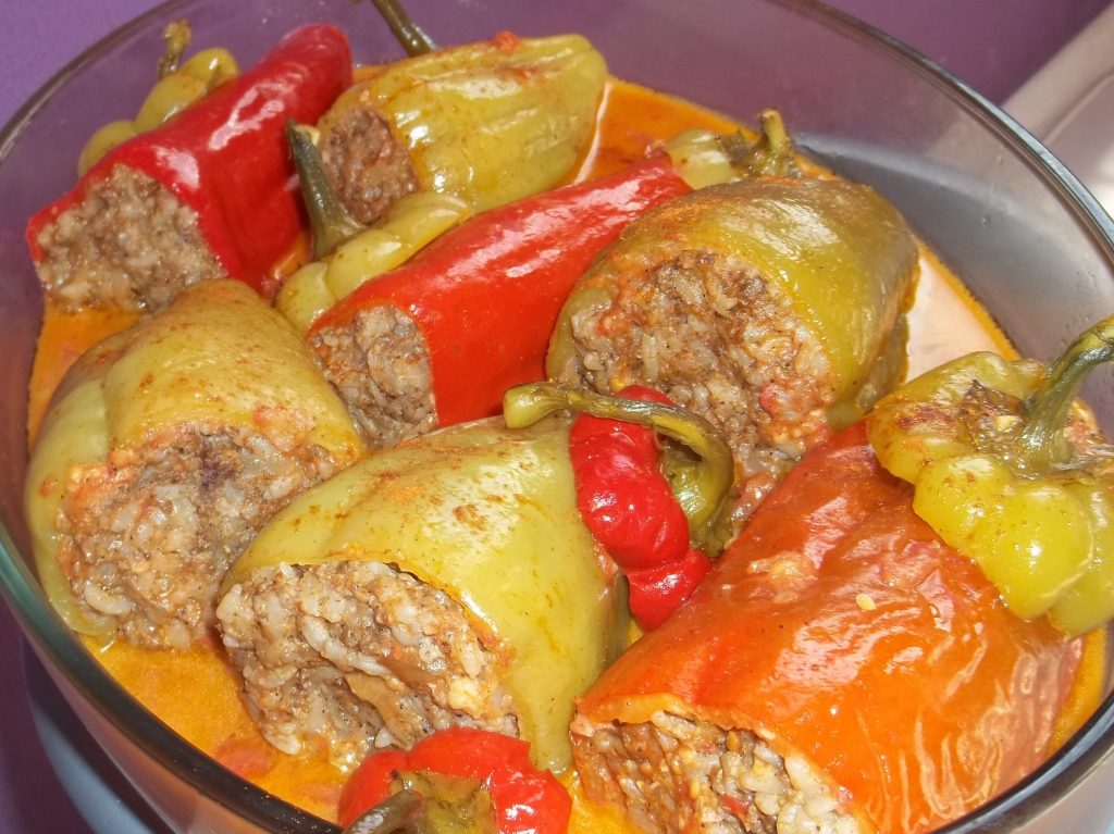 Armenian Stuffed Peppers