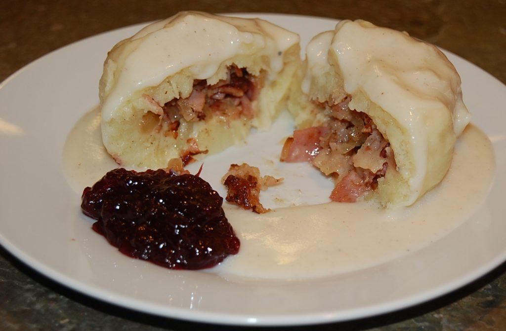 Swedish potato dumplings