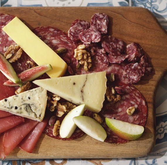 Charcuterie & cheese platter