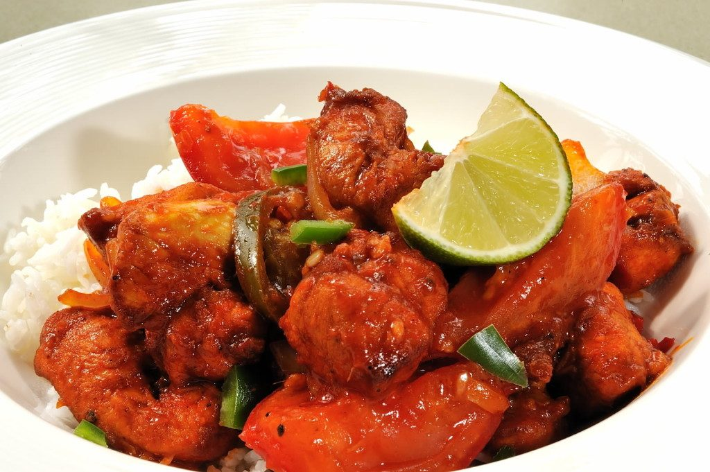 Deviled Sweet and Sour Chicken