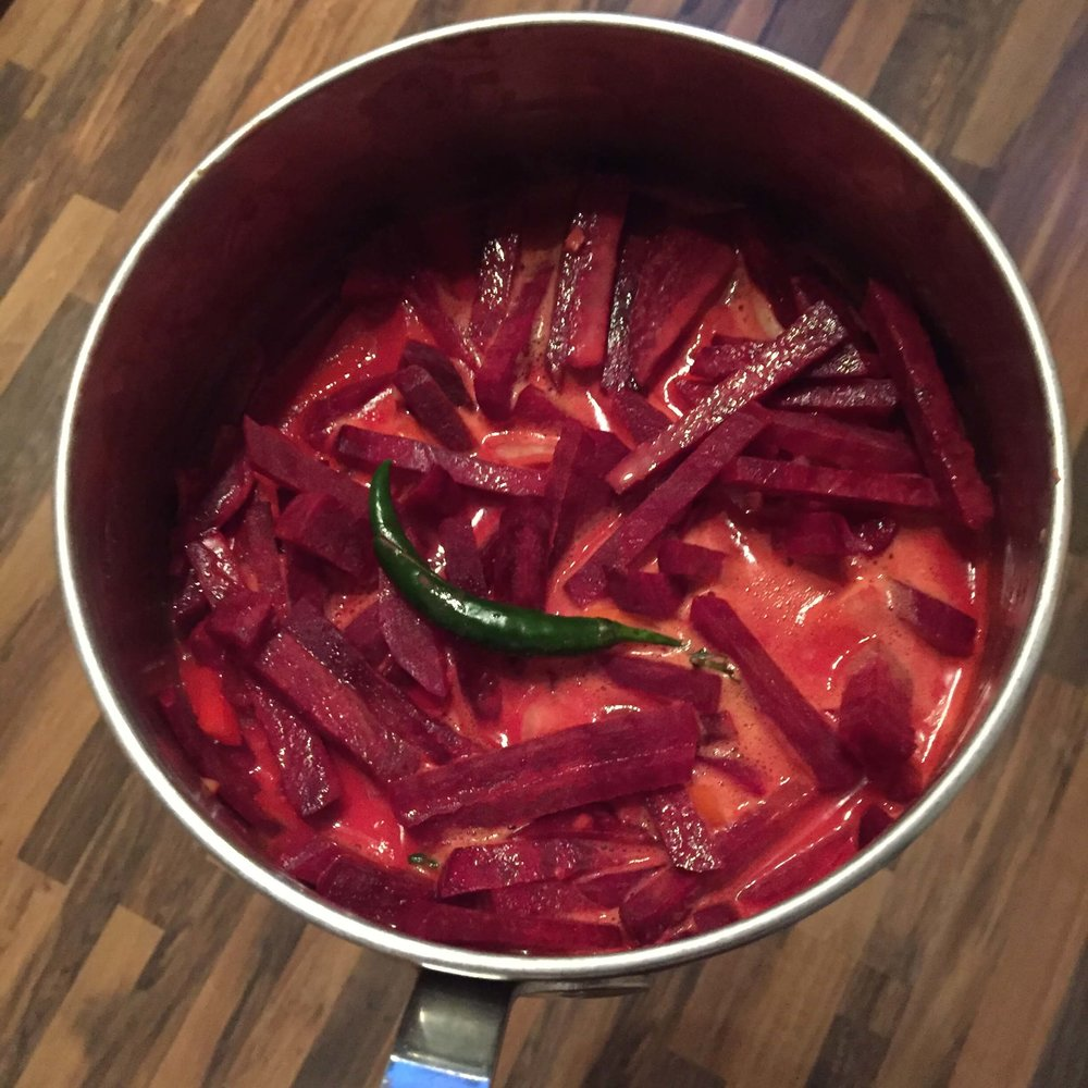 Srilankan Beetroot Curry
