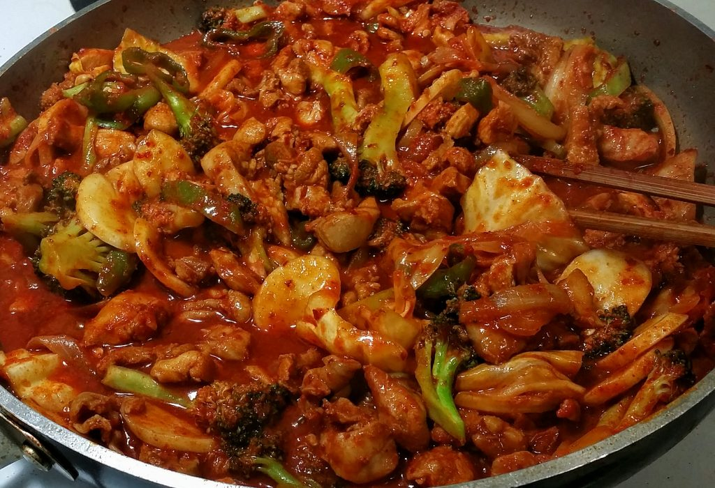 Dak Galbi Food You Should Try