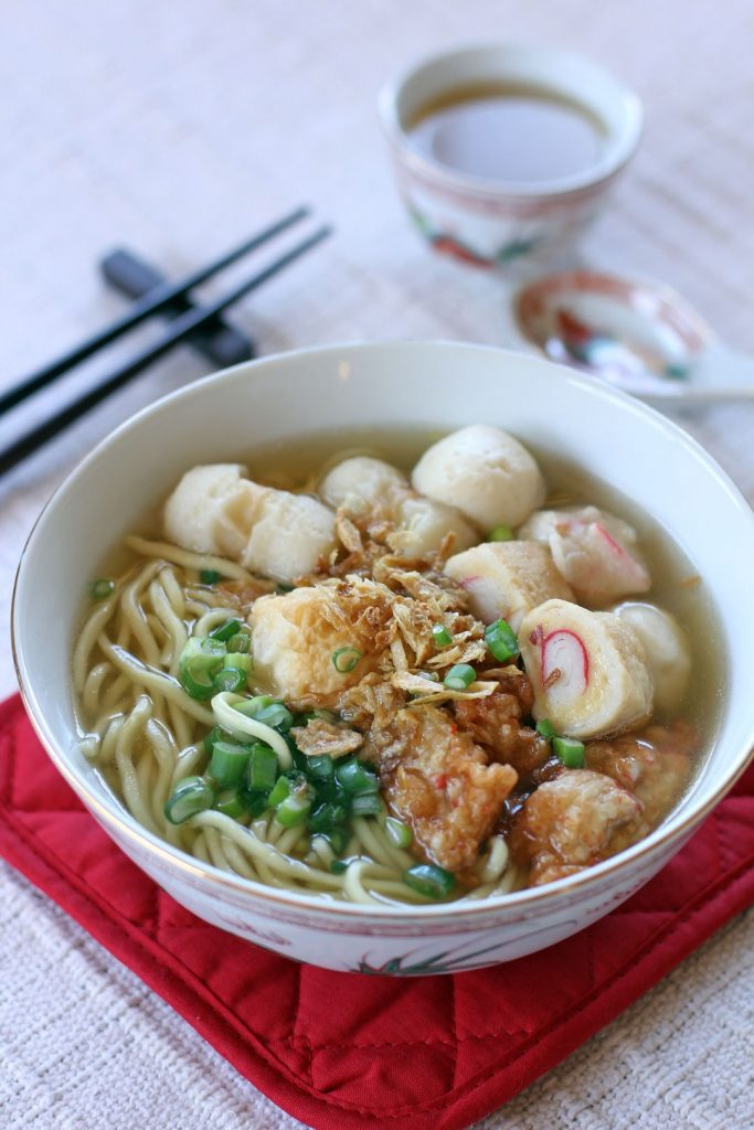Fish ball noodles