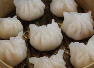 7. Steamed Shrimp Dumplings (Har Gow)