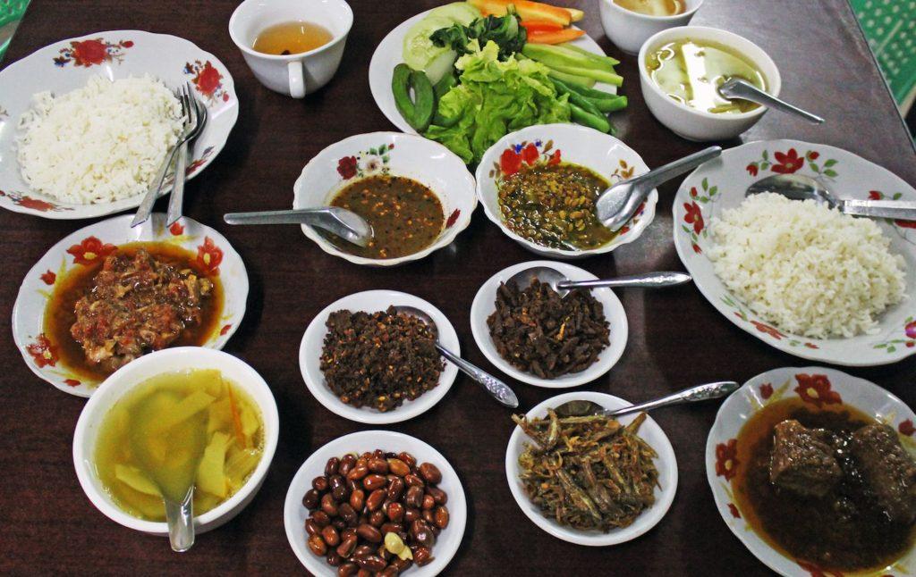 Burmese Curry and Rice