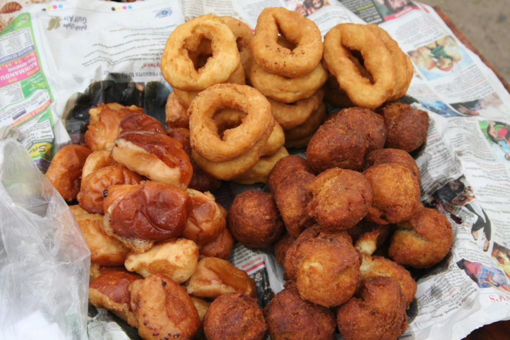 Burmese Sweet Snacks