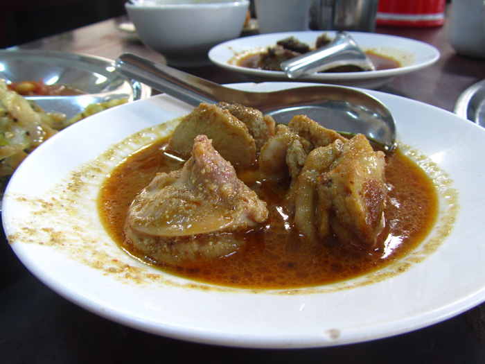 Goat Testicles Curry
