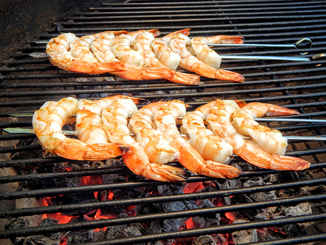 shrimp on the barbie