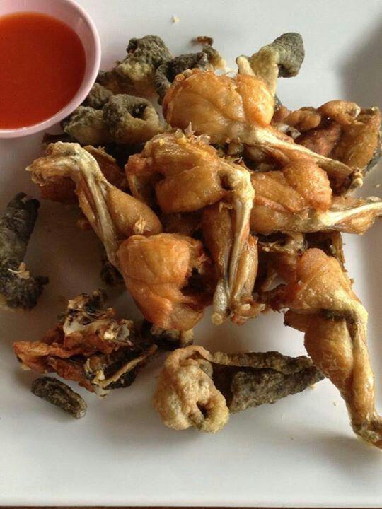 Fried Frog Legs