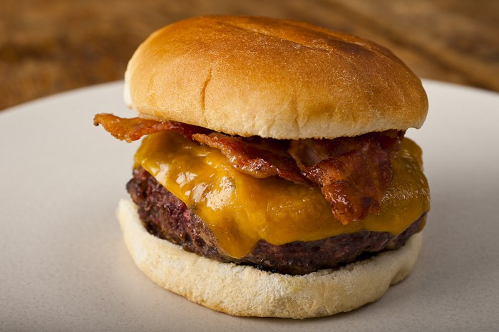 The Cheddar Cheeseburger